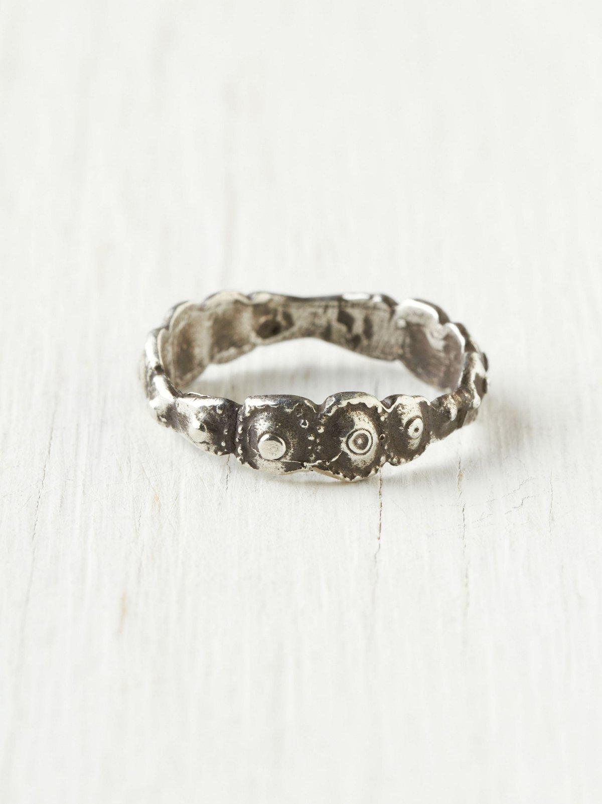 Sea Urchin Band Ring