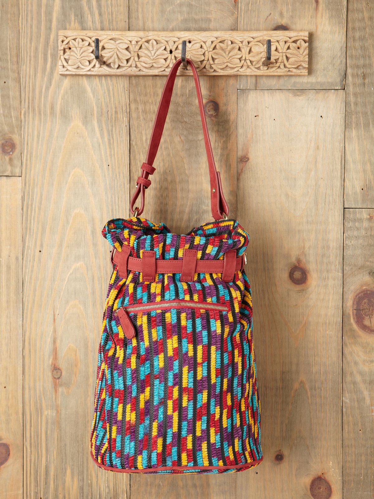 Blanket Bucket Bag