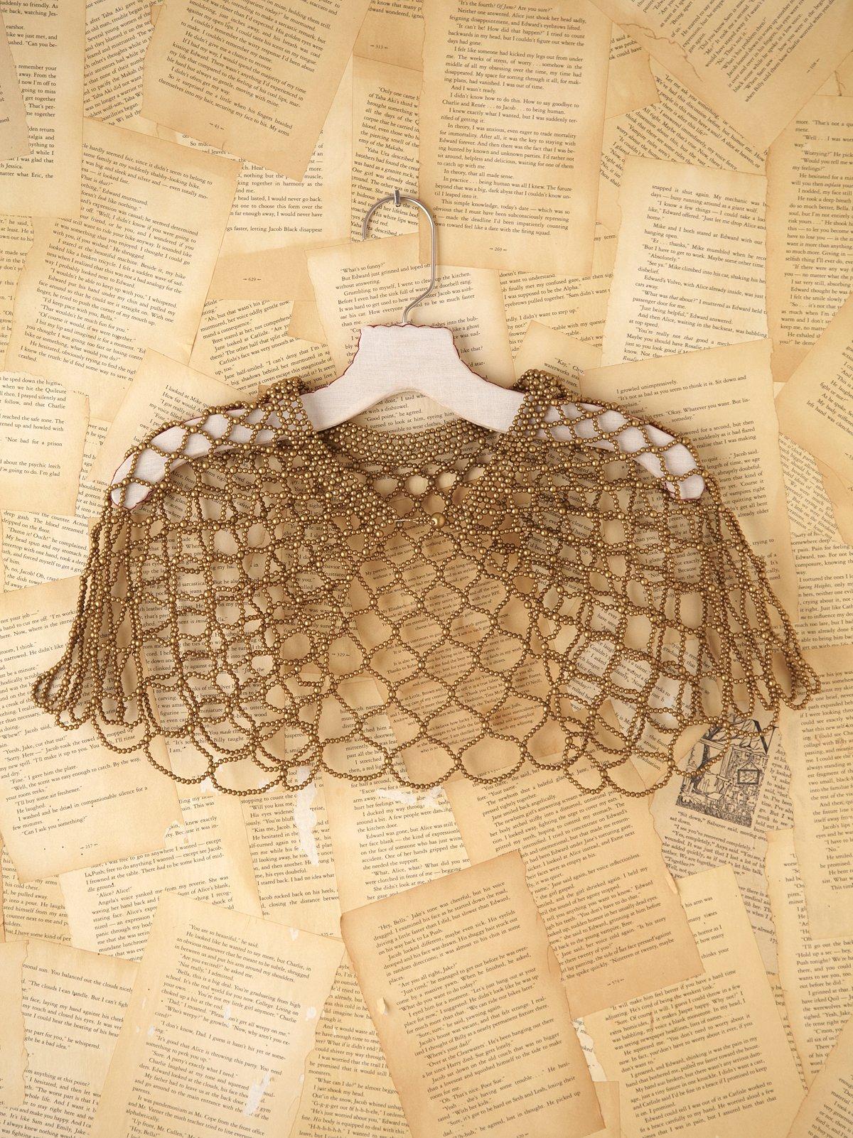 Vintage Mesh Necklace