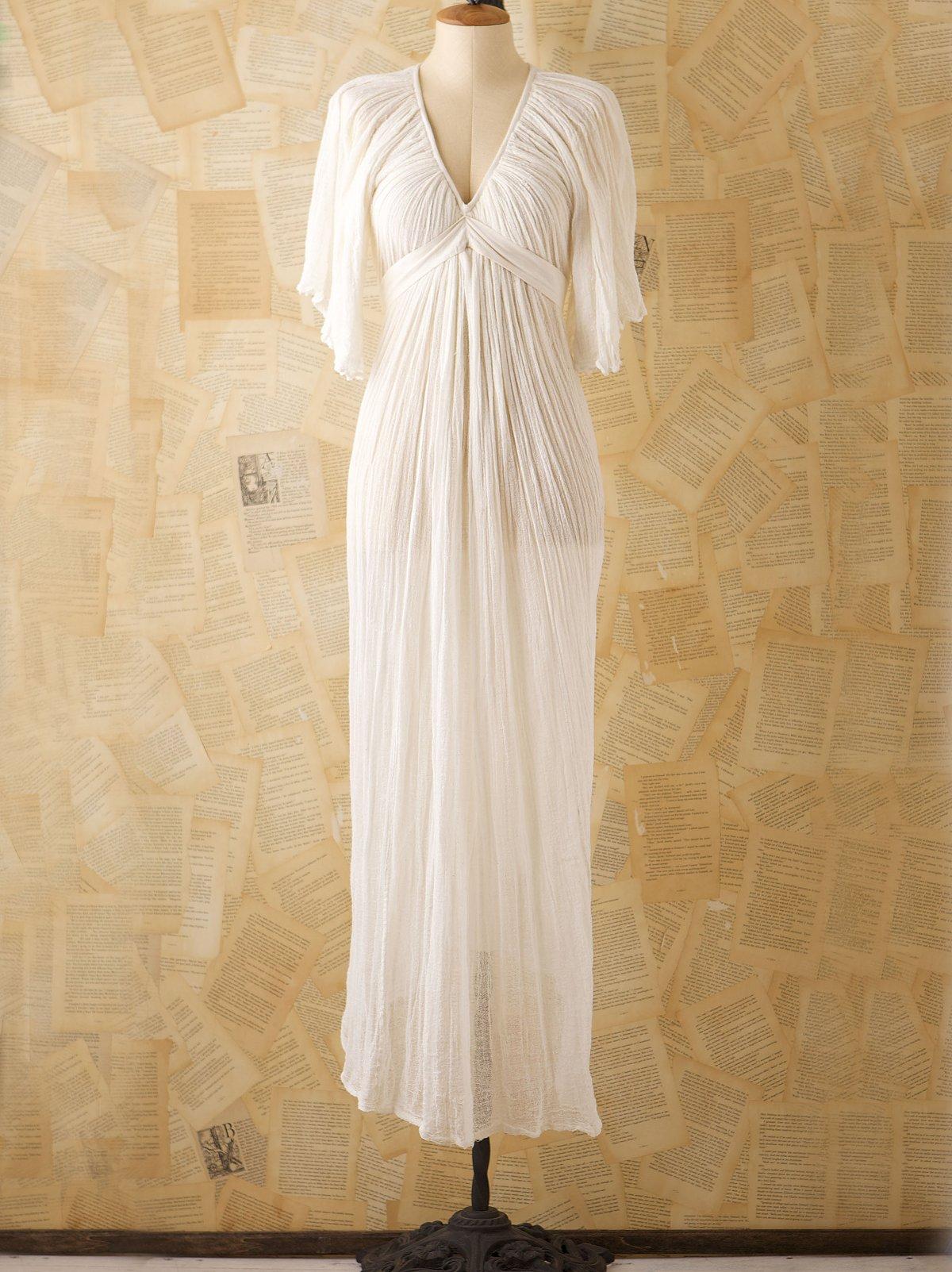 Vintage Josefina Gauze Gown