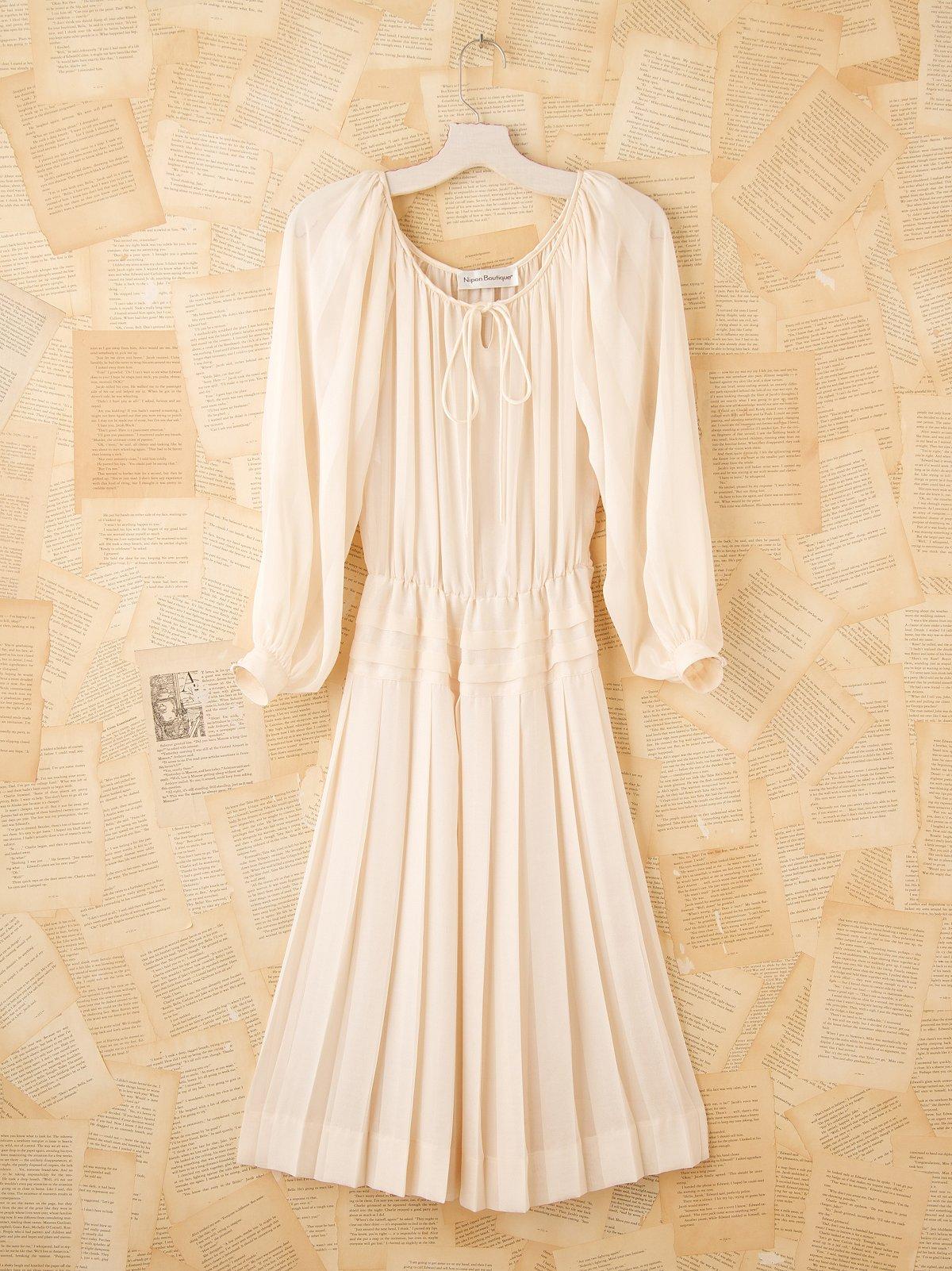 Vintage 1970s Dance Dress