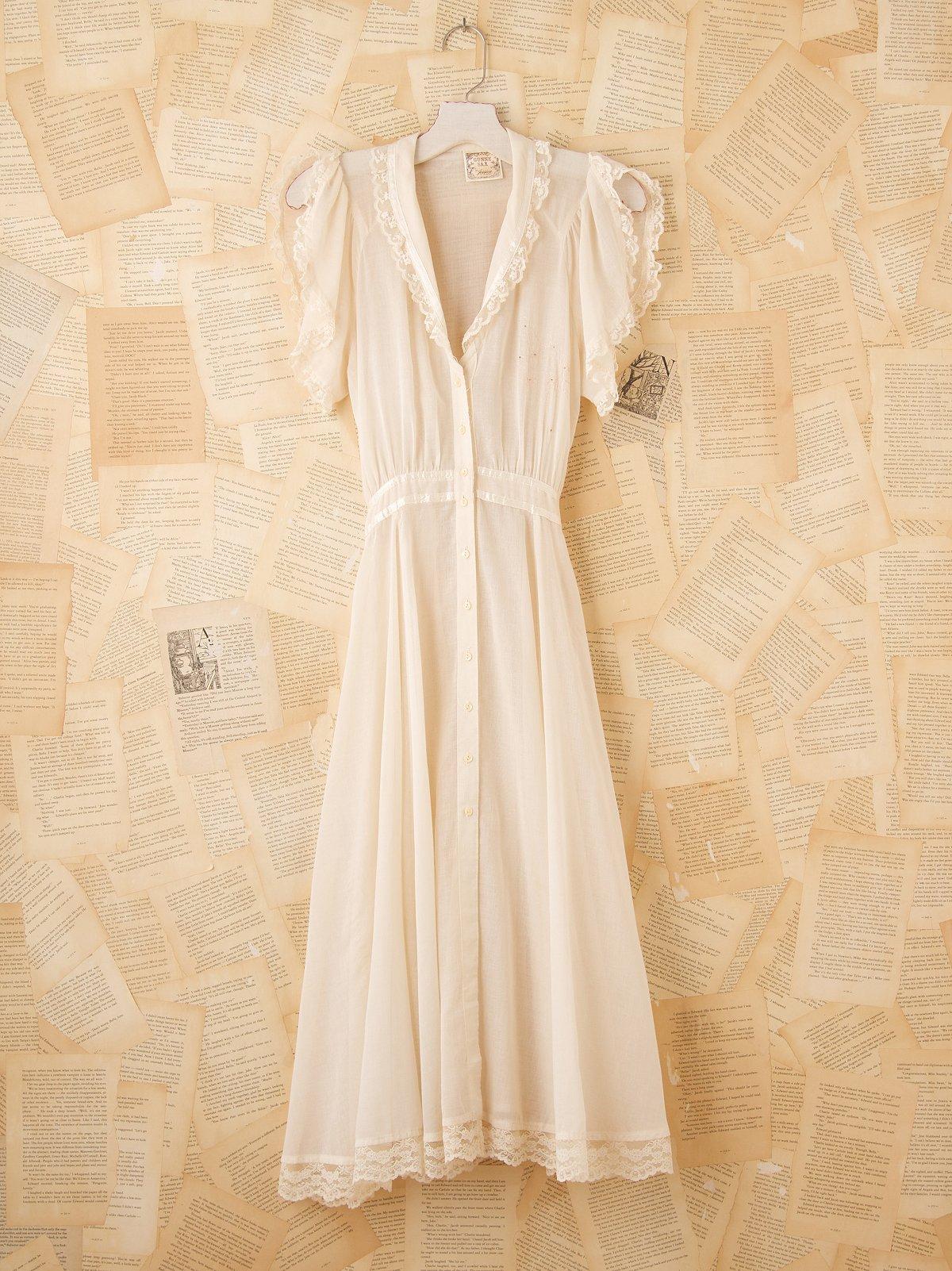 Vintage 1970s Gunne Sax Dress