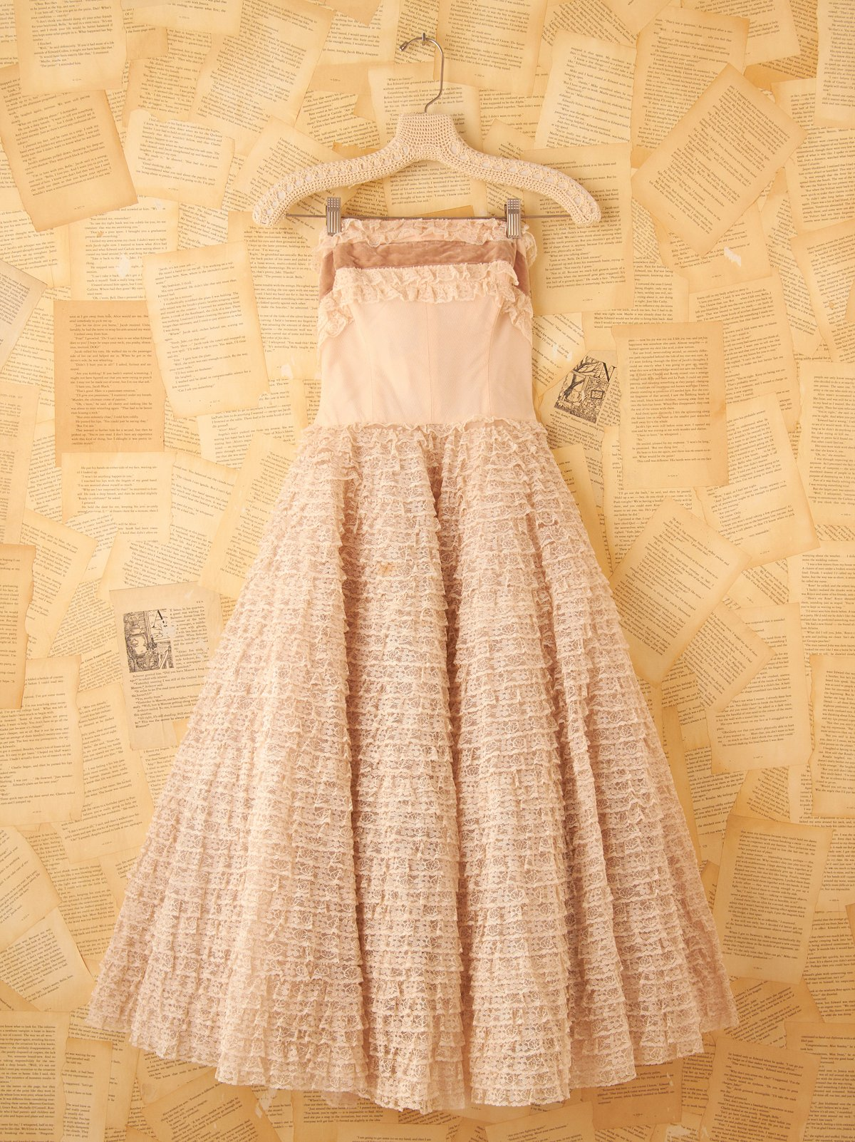 Vintage Pale Pink Princess Dress