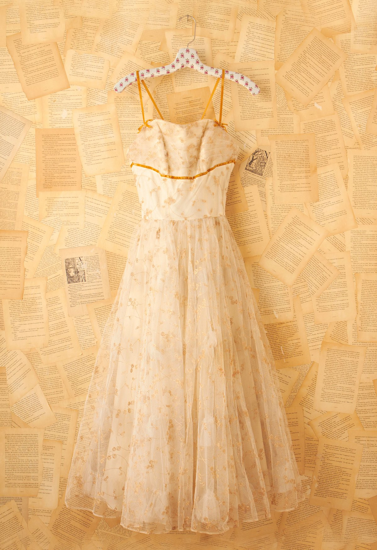 Vintage Cream Princess Dress