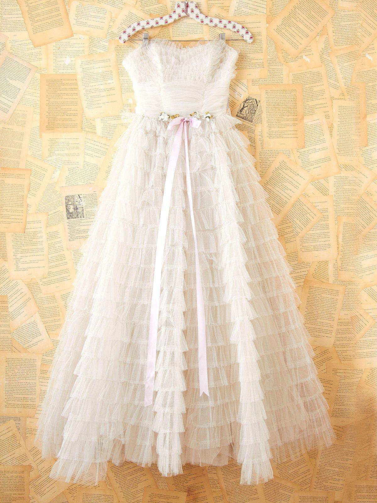Vintage 1950s Princess Gown