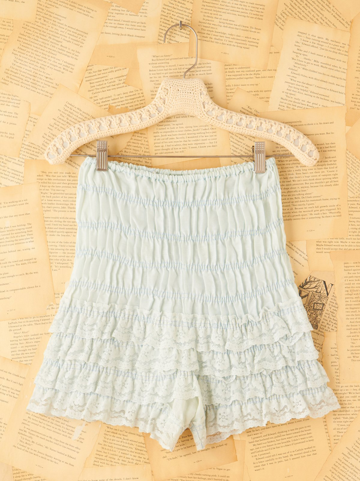 Vintage Light Blue Bloomers