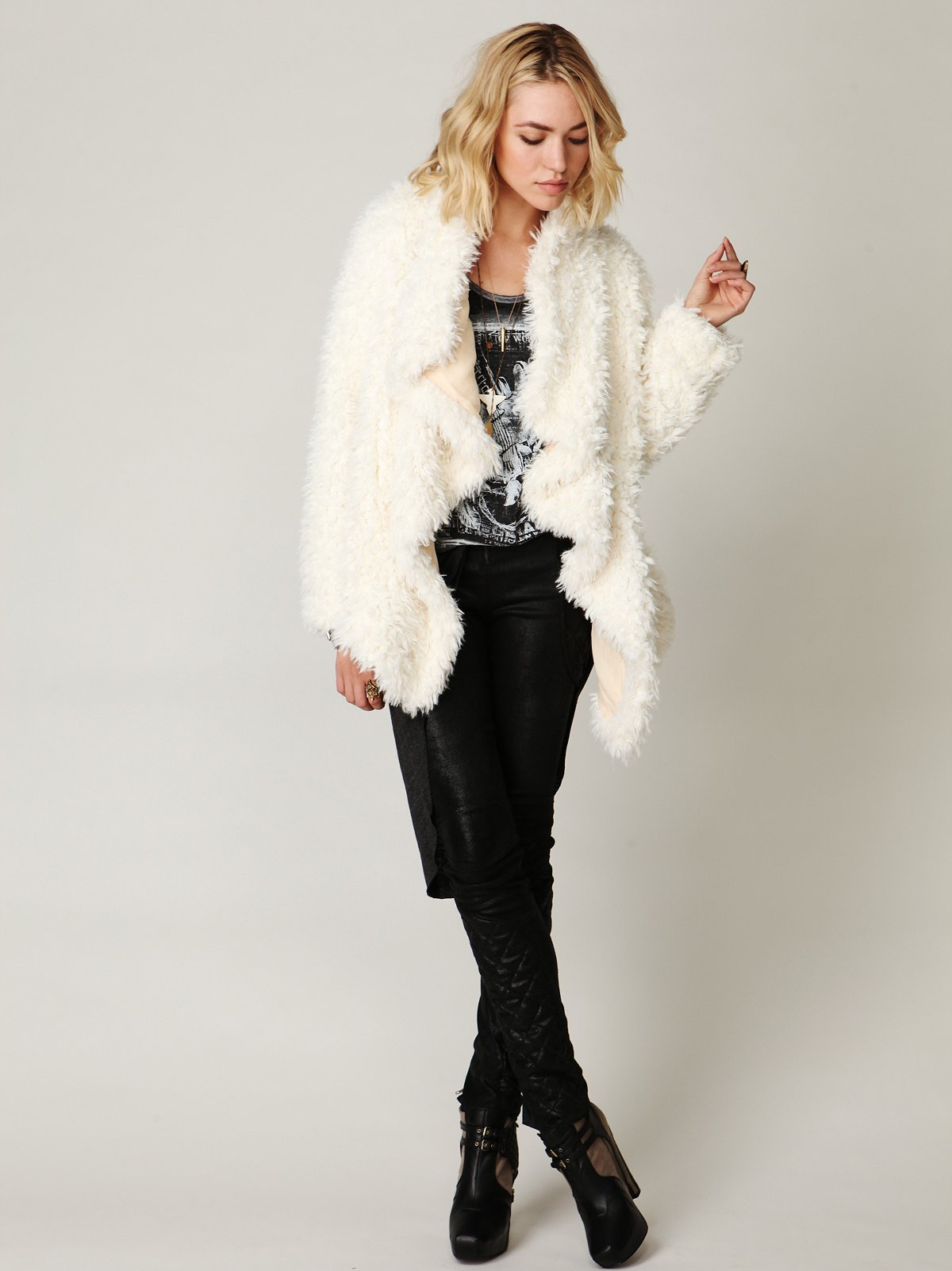 Simply Sherpa Coat