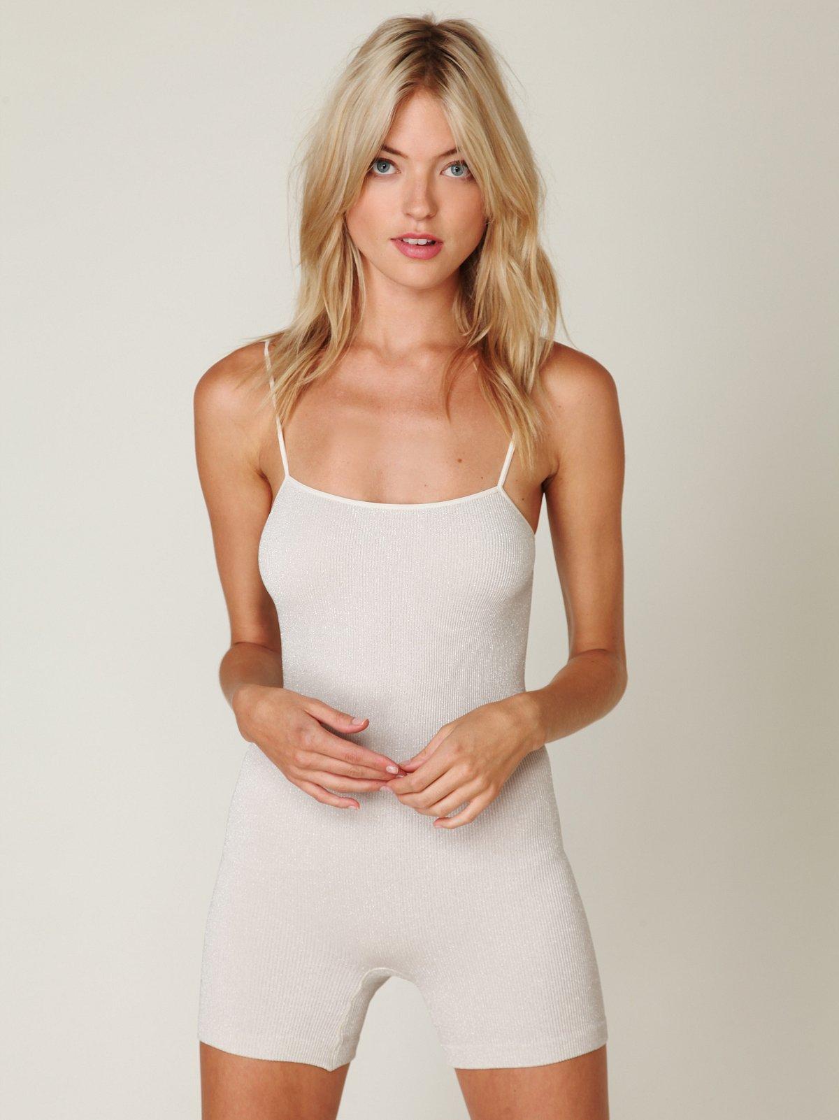 Lurex Now Seamless Bodysuit