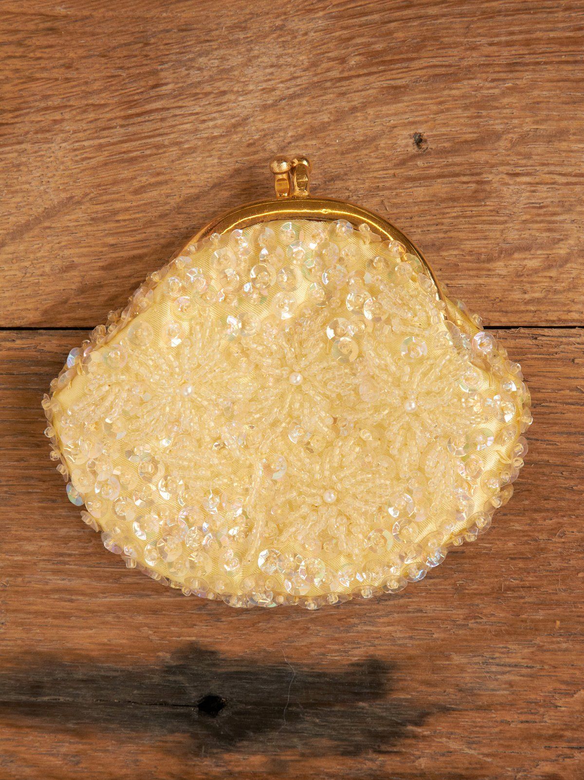 Vintage Sparkle Change Purse