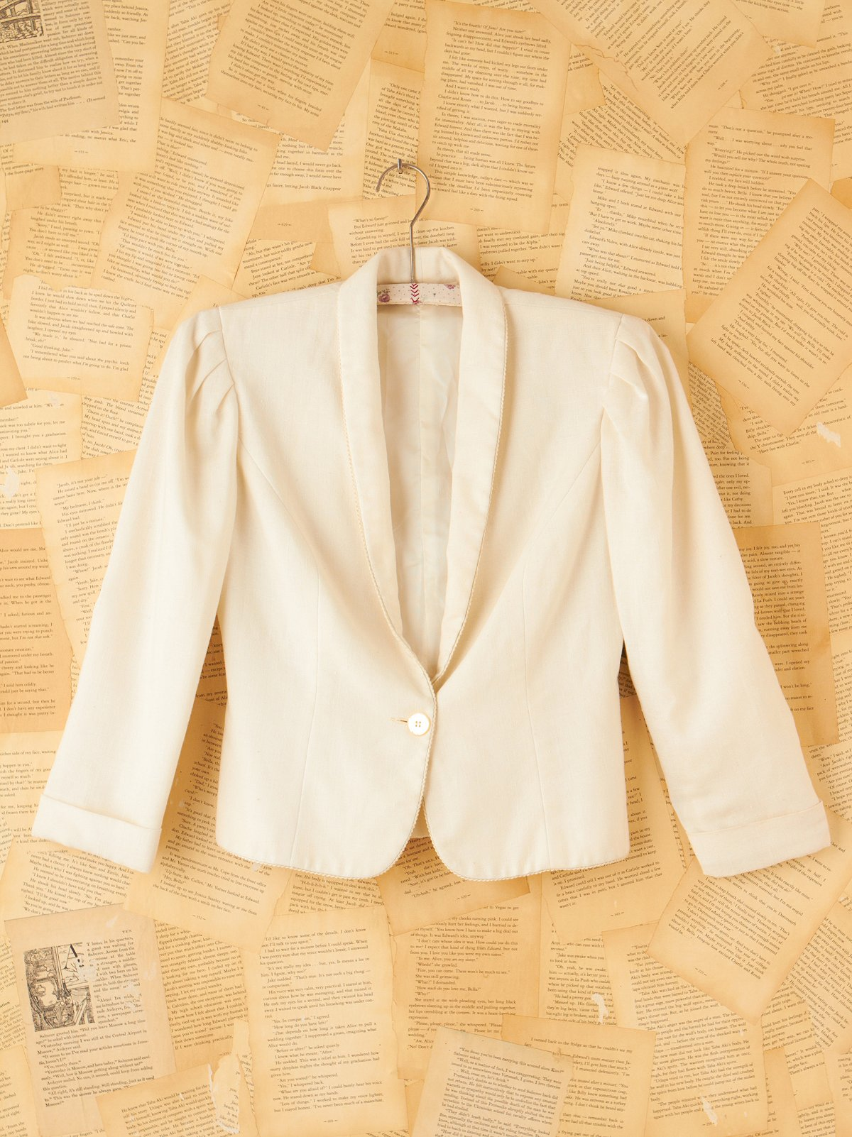 Vintage White Princess Jacket