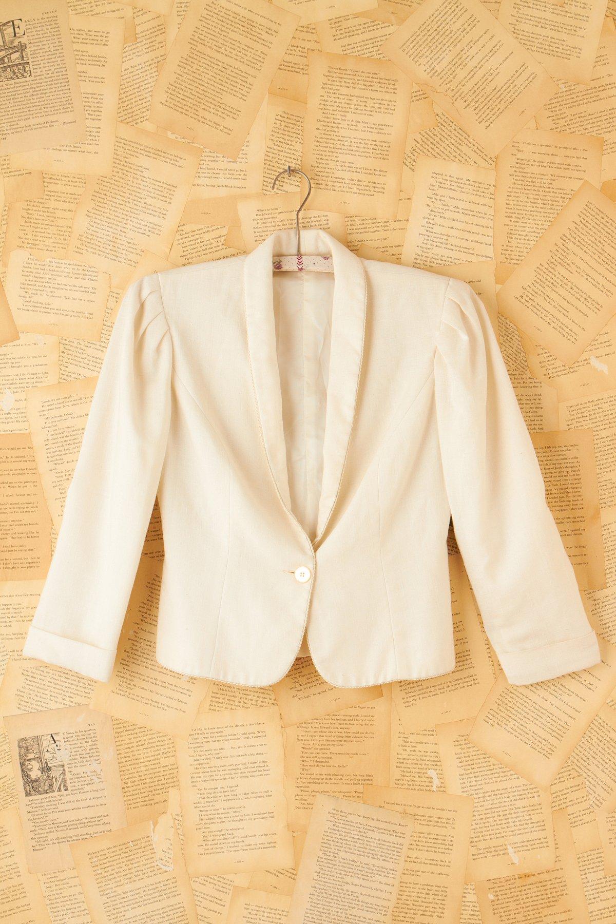 Vintage White Princess Jacket