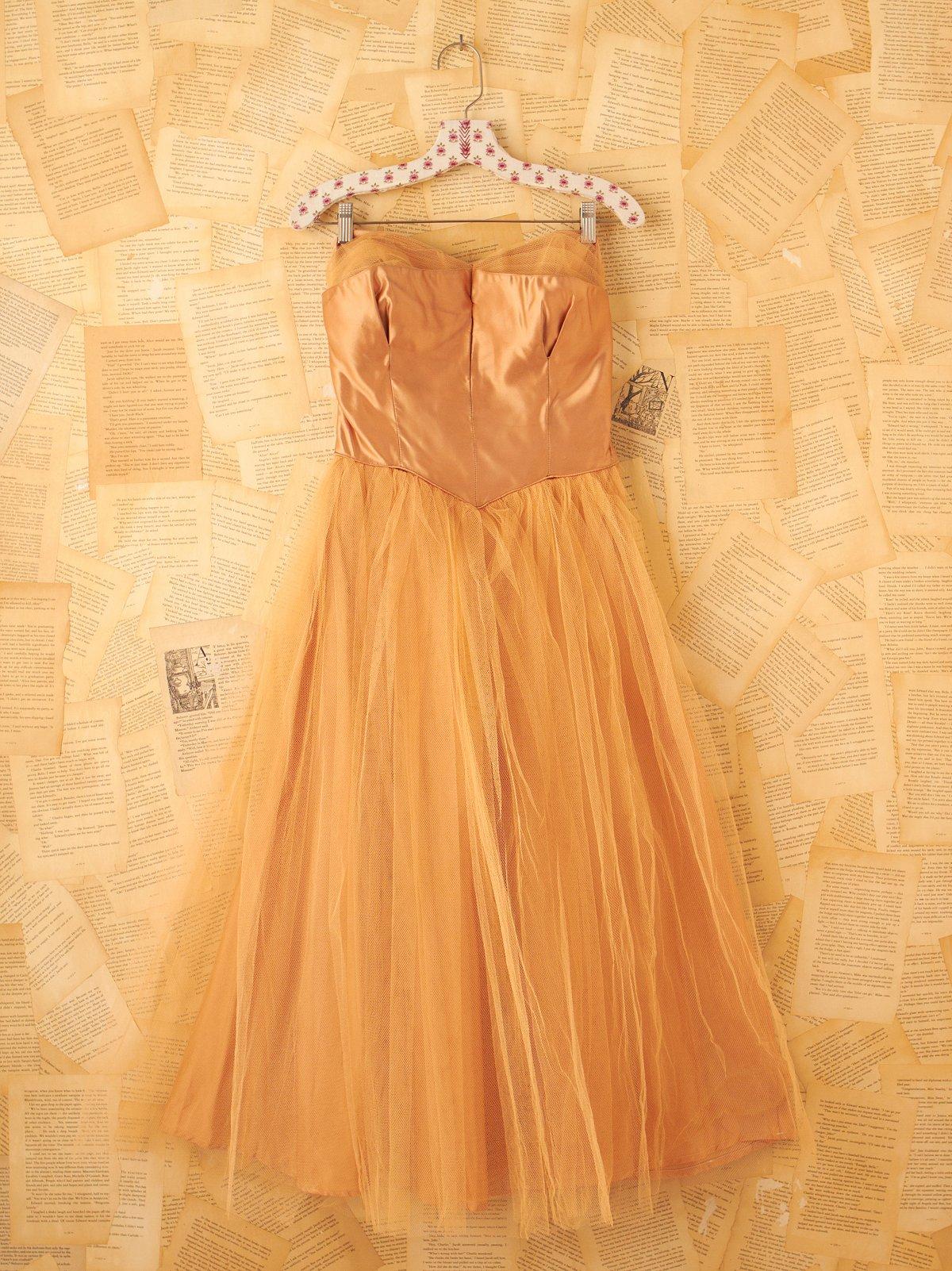 Vintage Gold Princess Dress