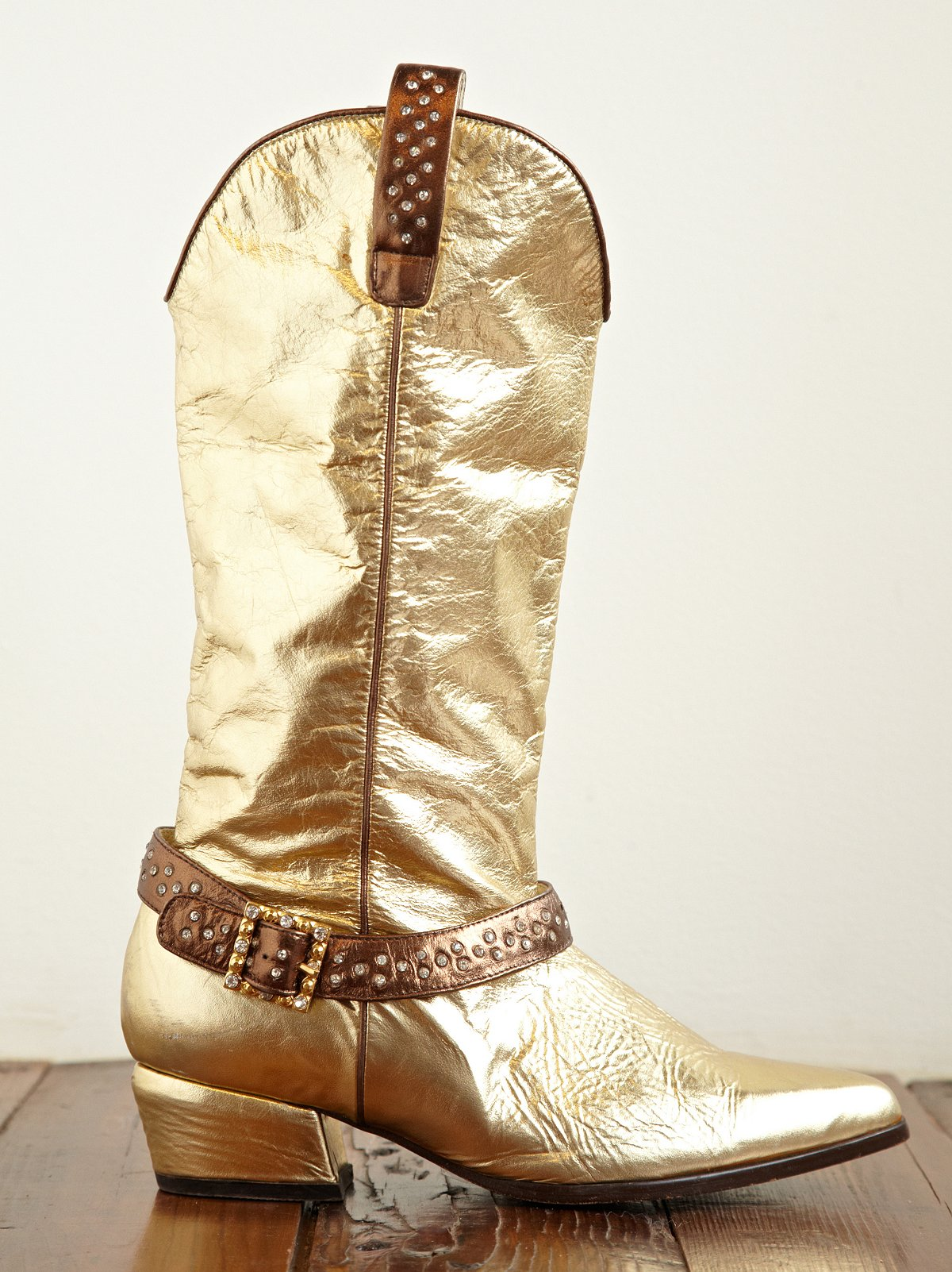 Vintage Studded Cowboy Boots