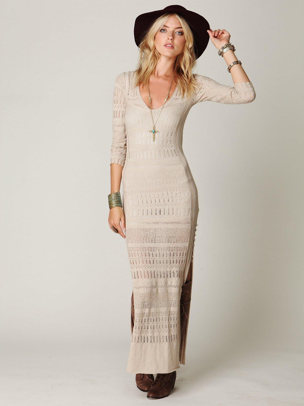 Birkin Contoured Maxi Dress