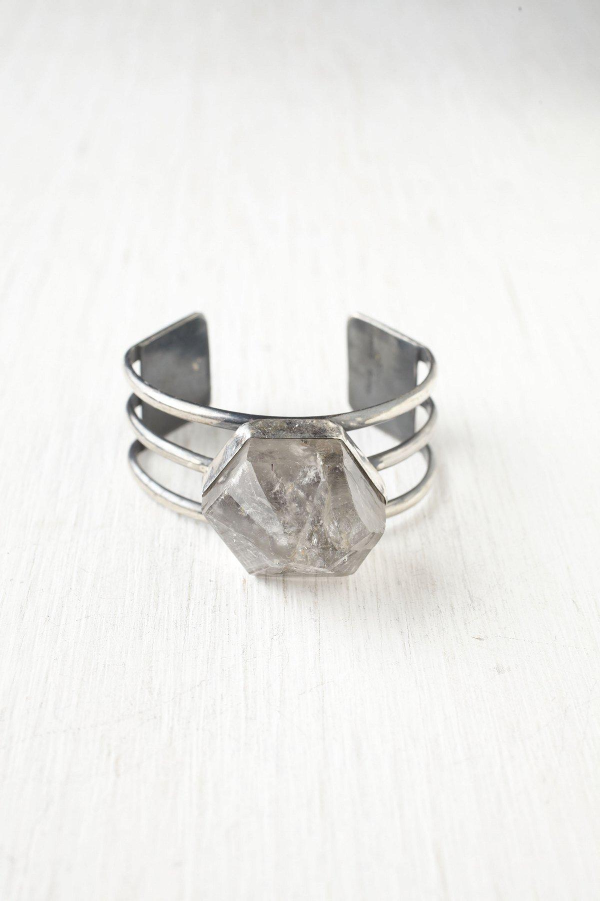 Crystal Amulet Cuff