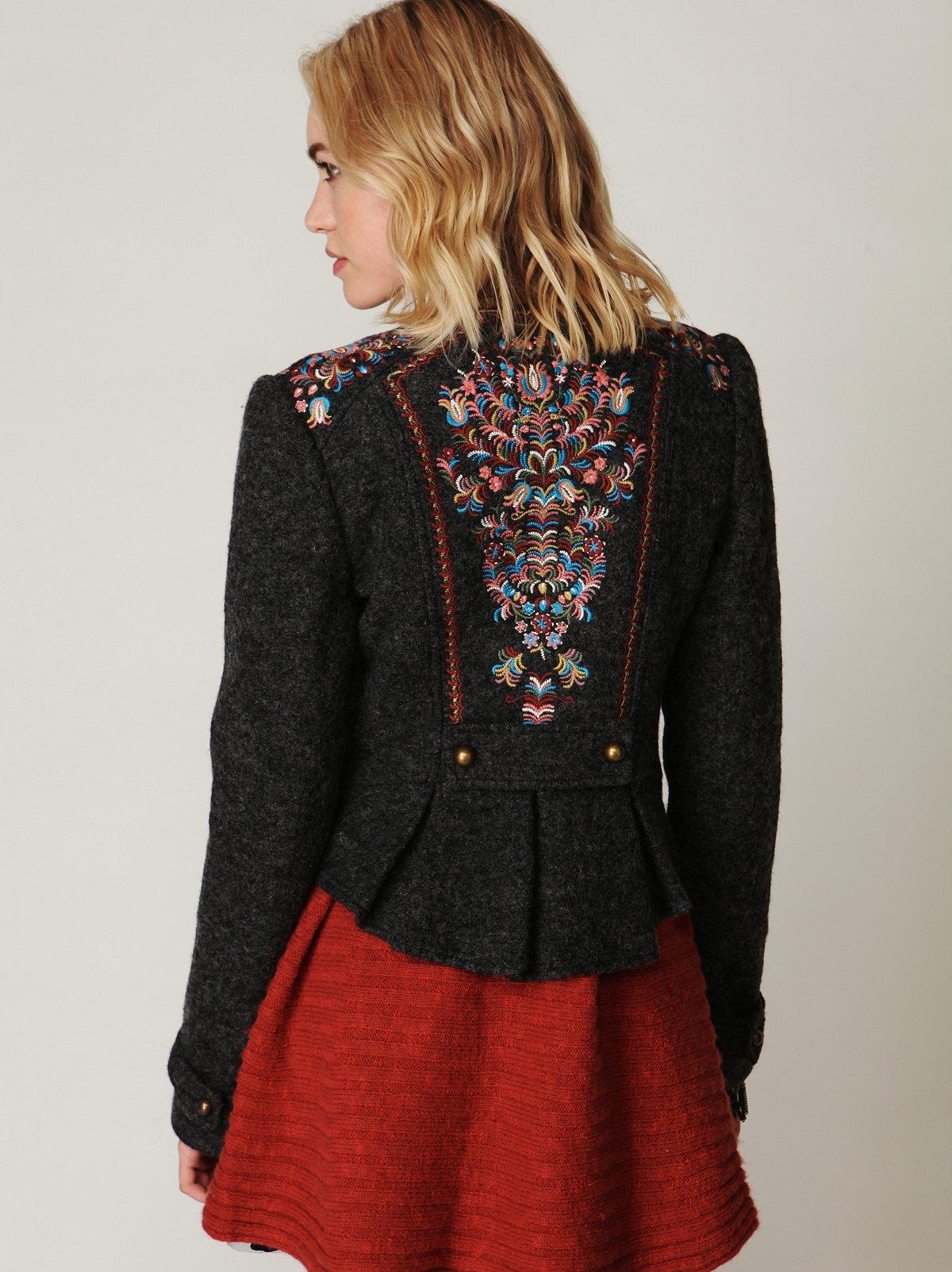 Picchi Embroidered Coat
