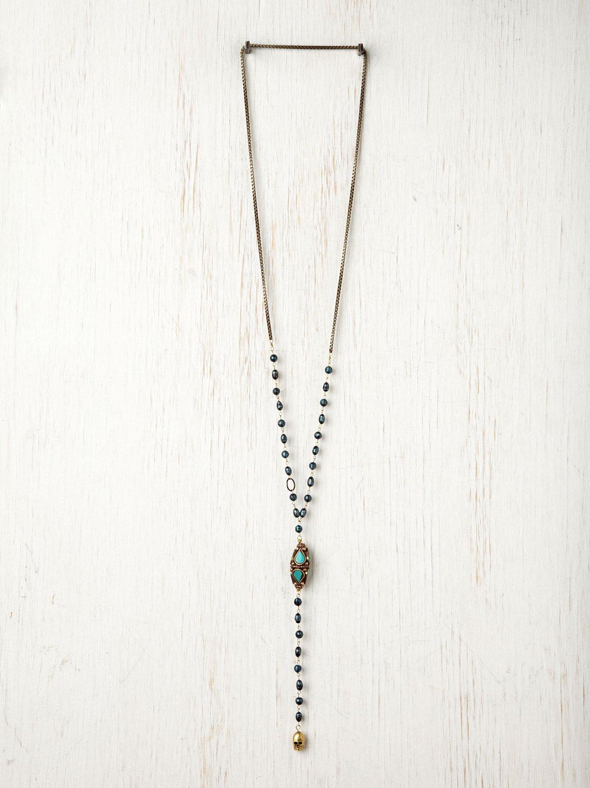 Dusk to Dawn Little Rosary Pendant