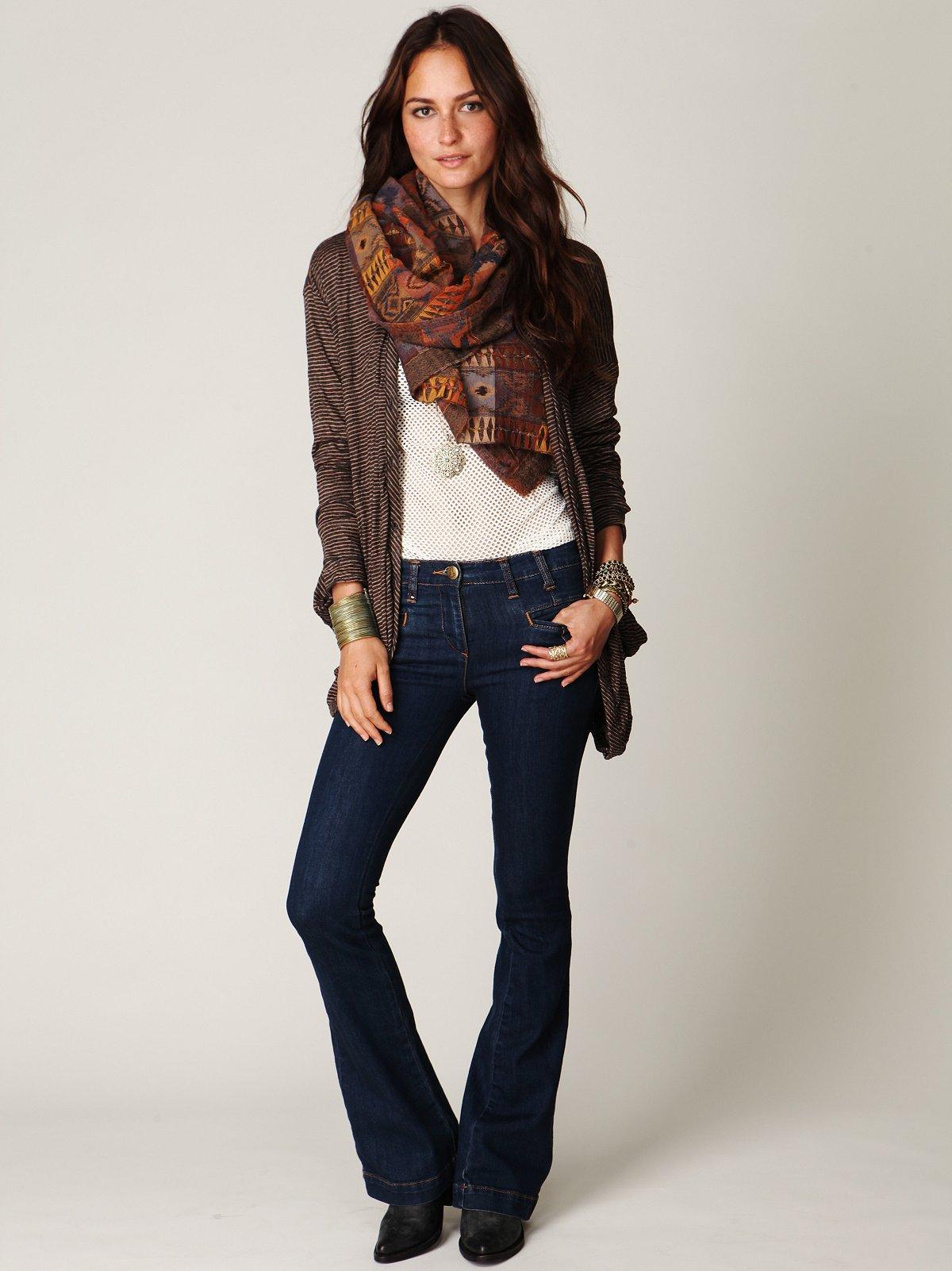5-Pocket Flare Jean