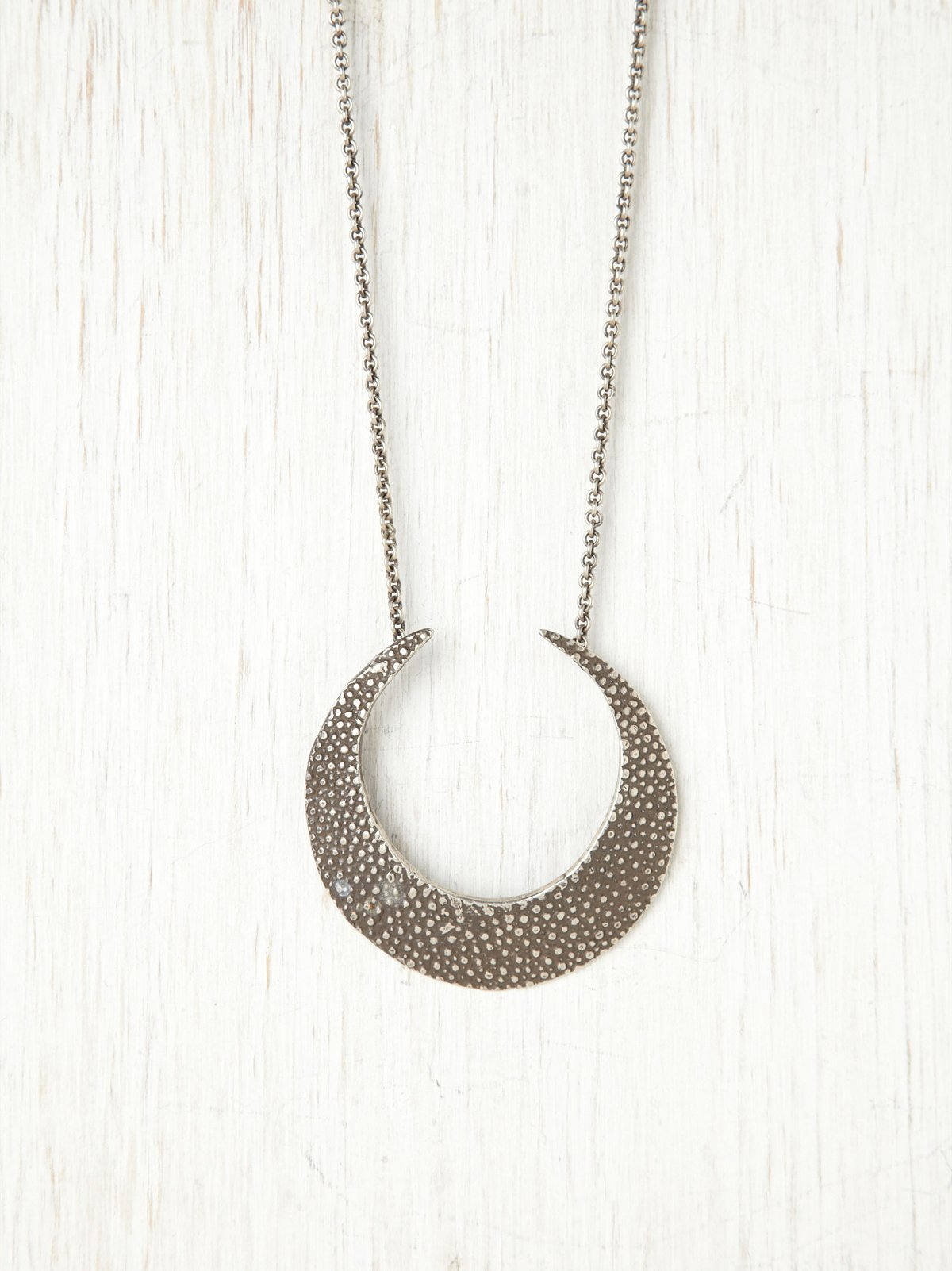 Stingray Crescent Pendant