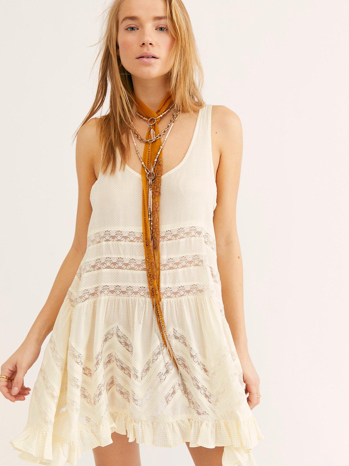 薄纱蕾丝吊带衬裙