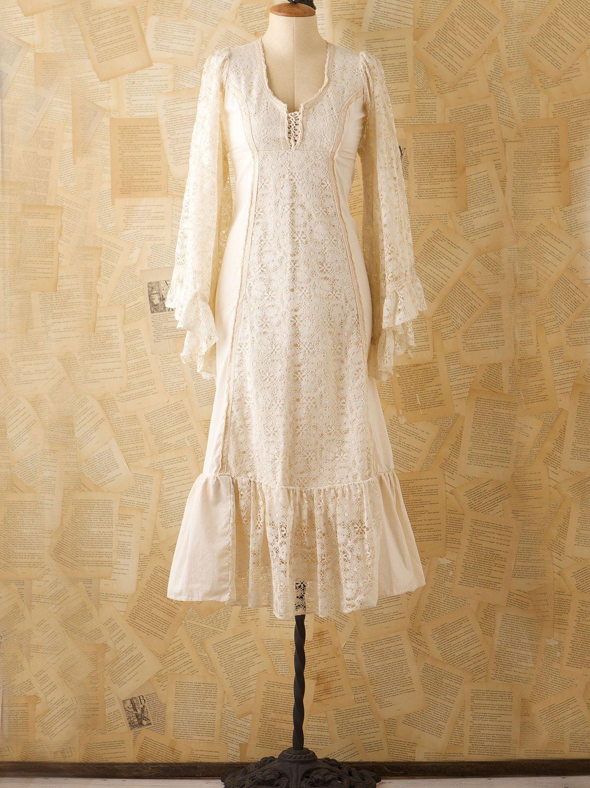 Vintage Lace Gunne Sax Dress