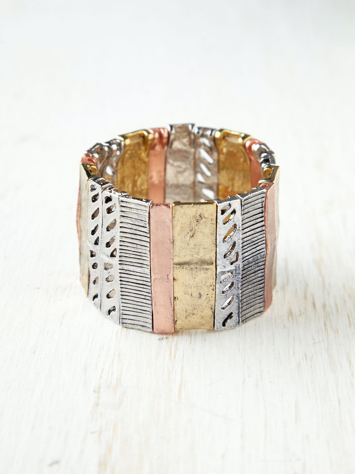 Mixed Textured Watch Band