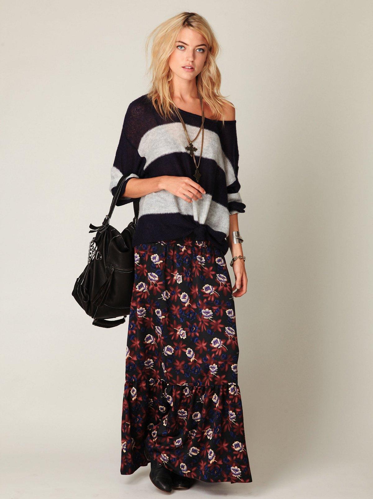 Gypsy Lover Maxi Skirt