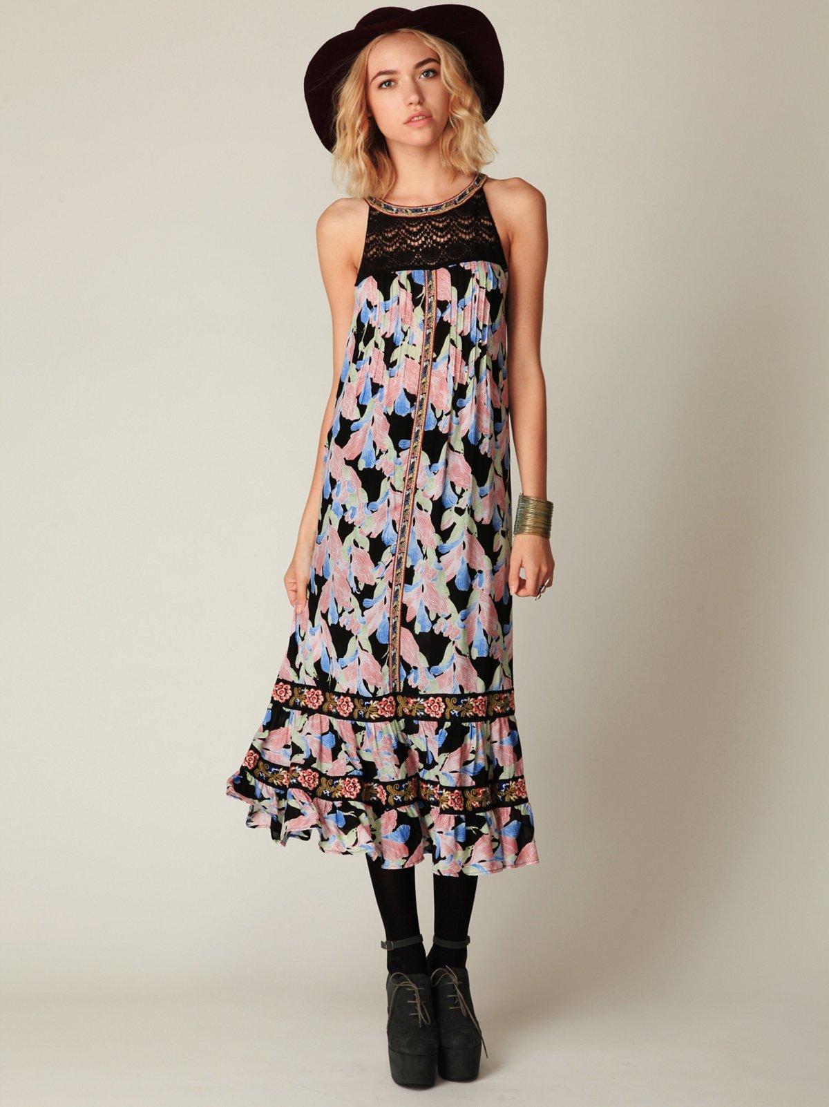 Flower Explosion Dress