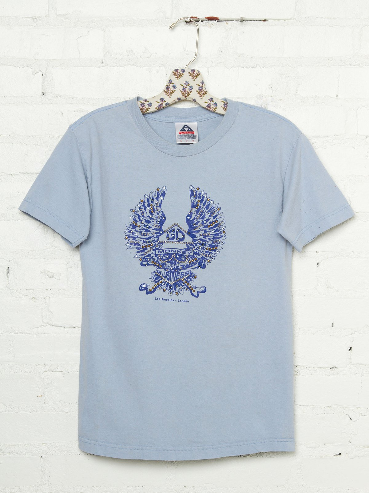 Vintage Studded Go Monkey Business Tee