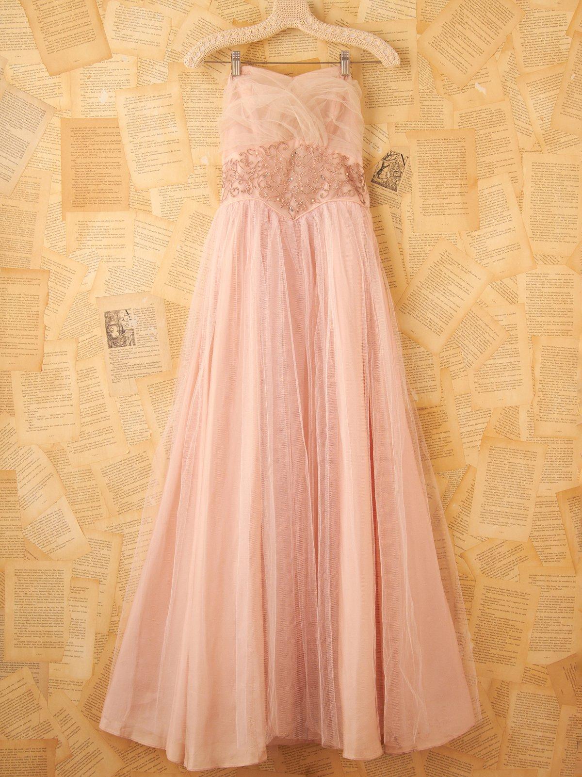 Vintage 1930s Princess Gown