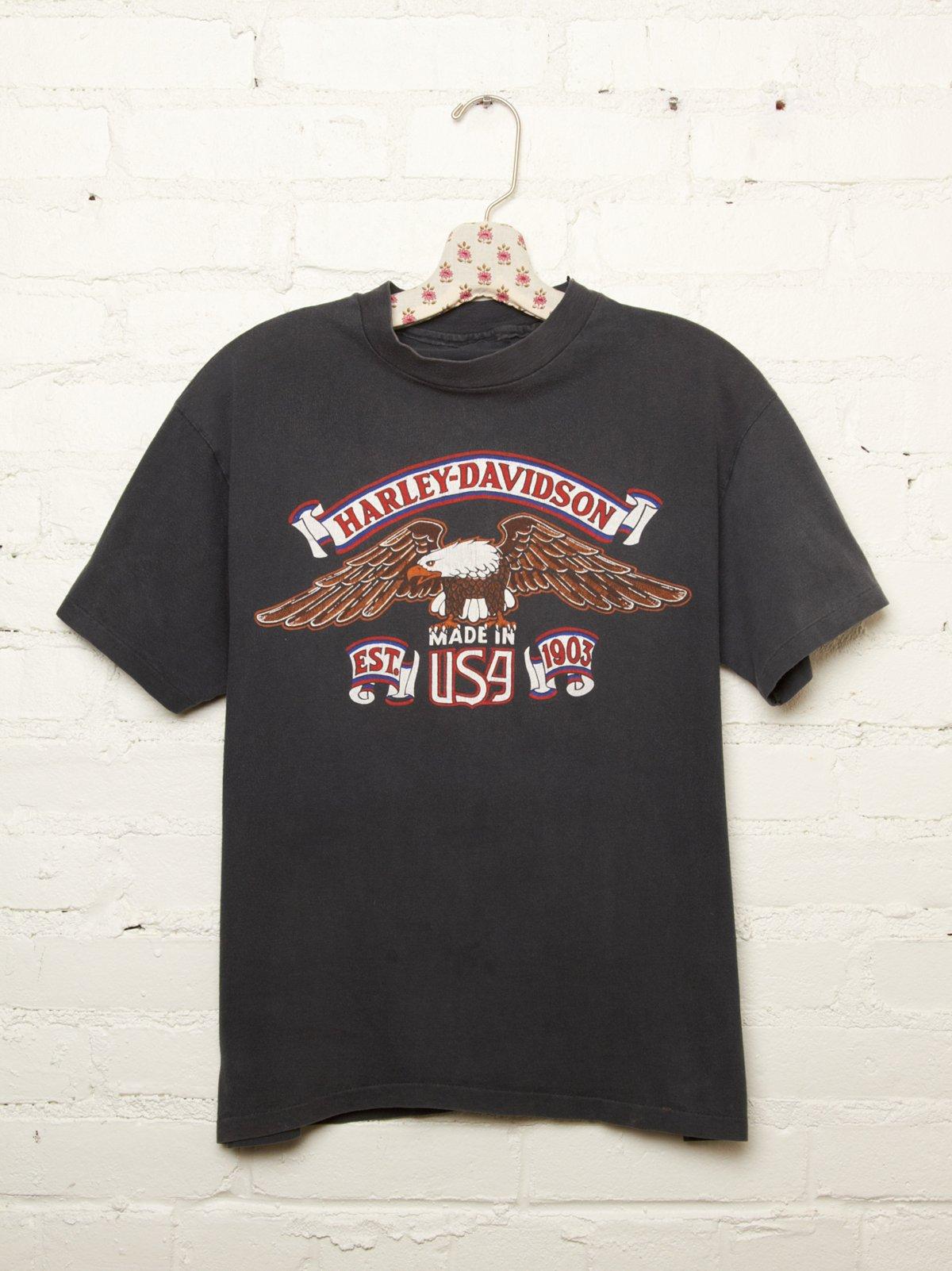 Vintage Harley Davidson Tee
