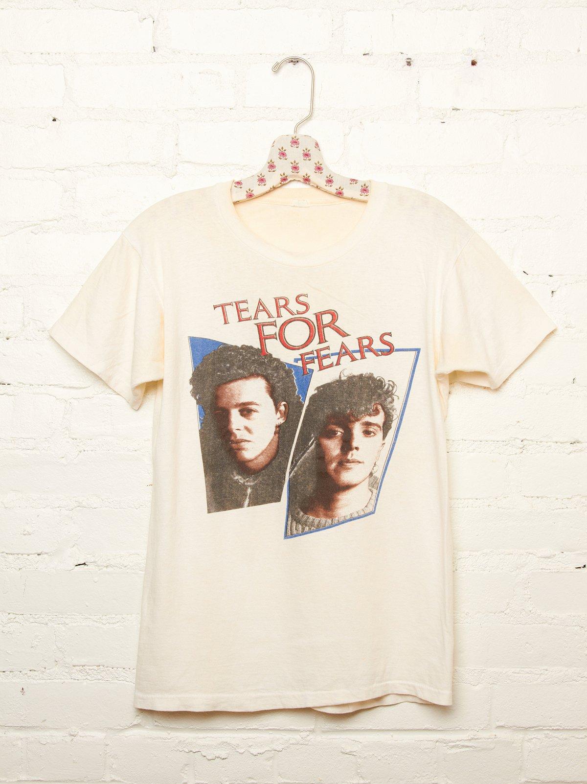 Vintage Tears For Fears Tee