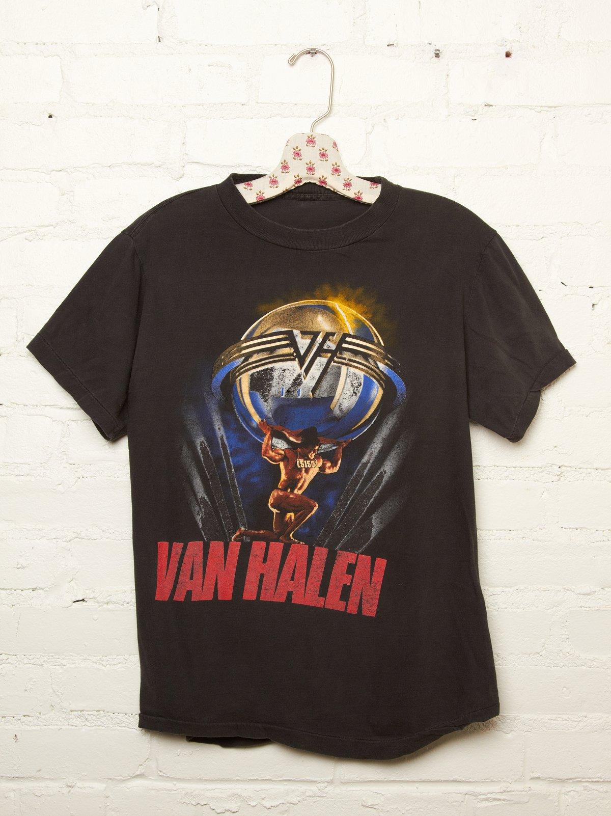 Vintage Van Halen 5150 Tour Tee