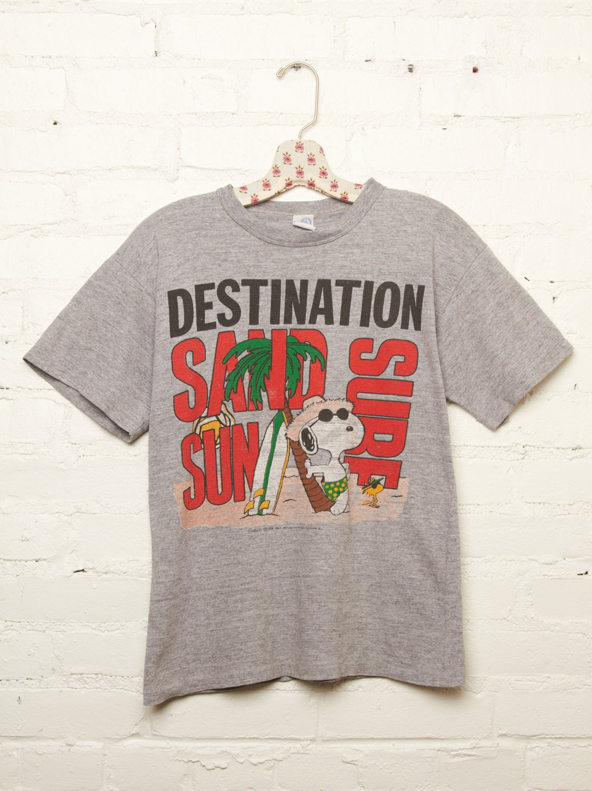 Vintage Snoopy Destination Tee