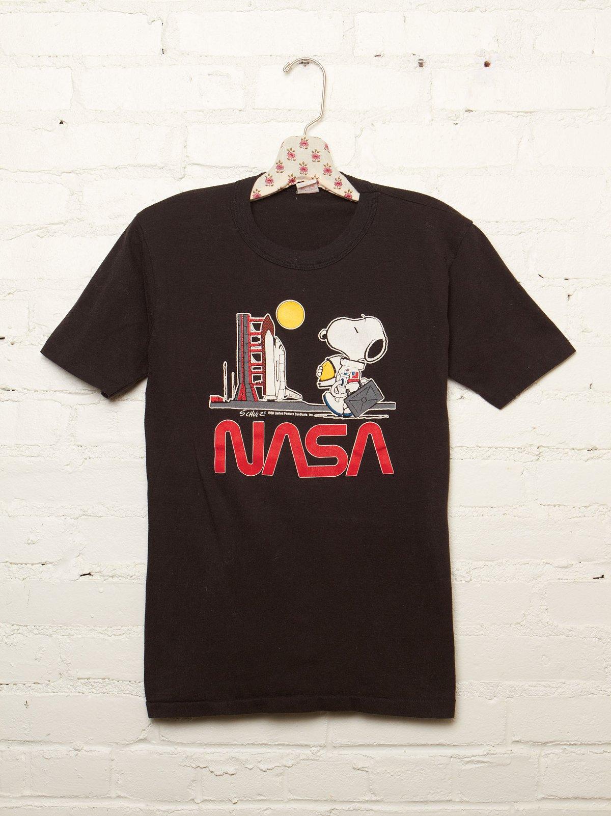 Vintage NASA Snoopy Tee
