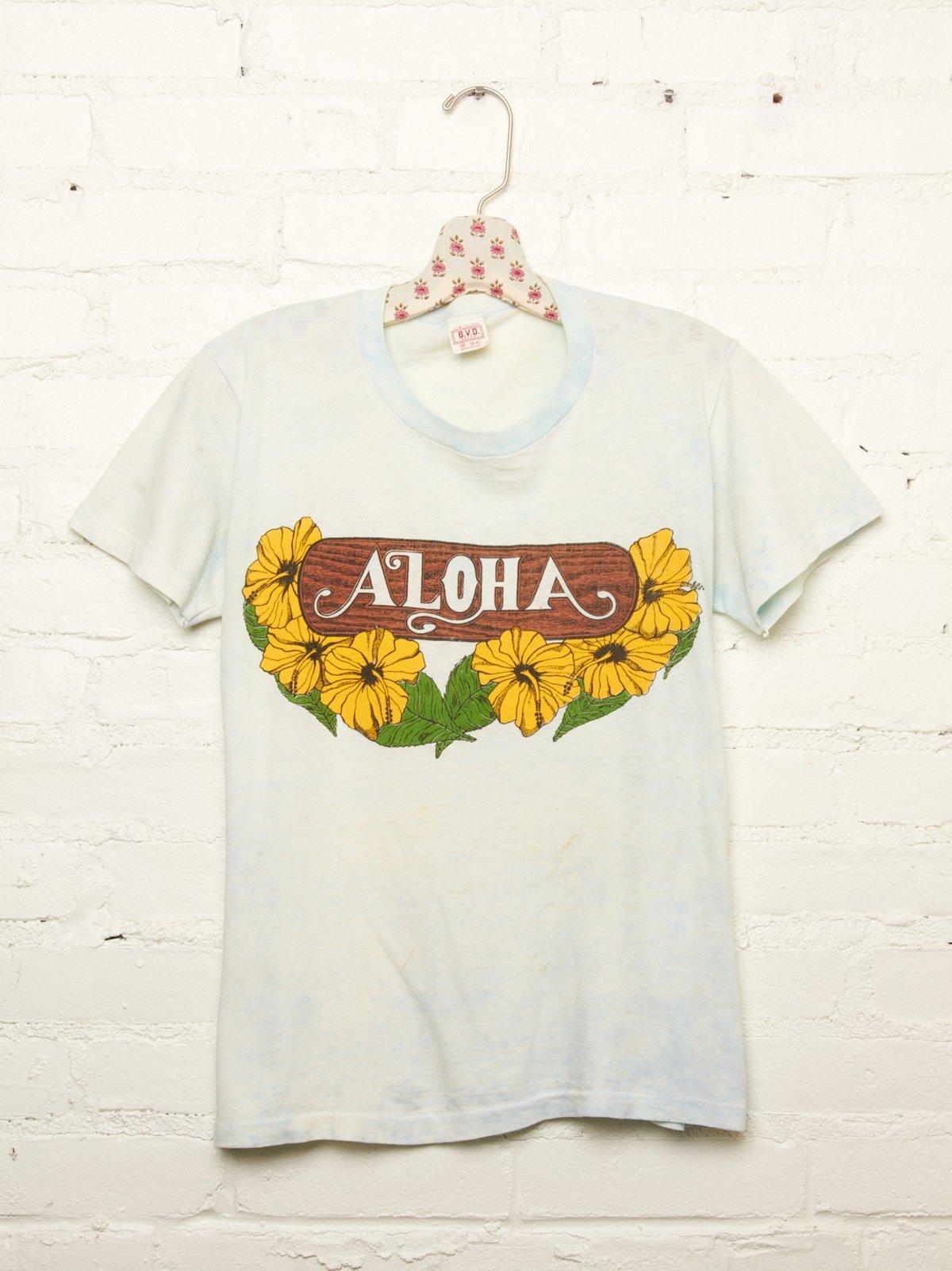 Vintage Aloha Tee