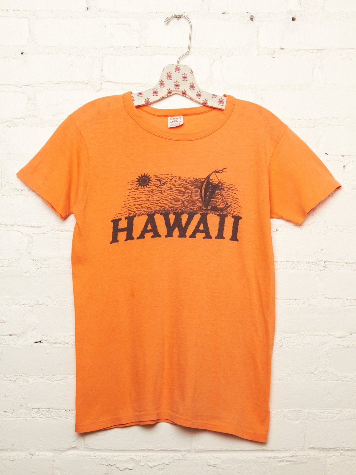 Vintage Orange Hawaii Tee