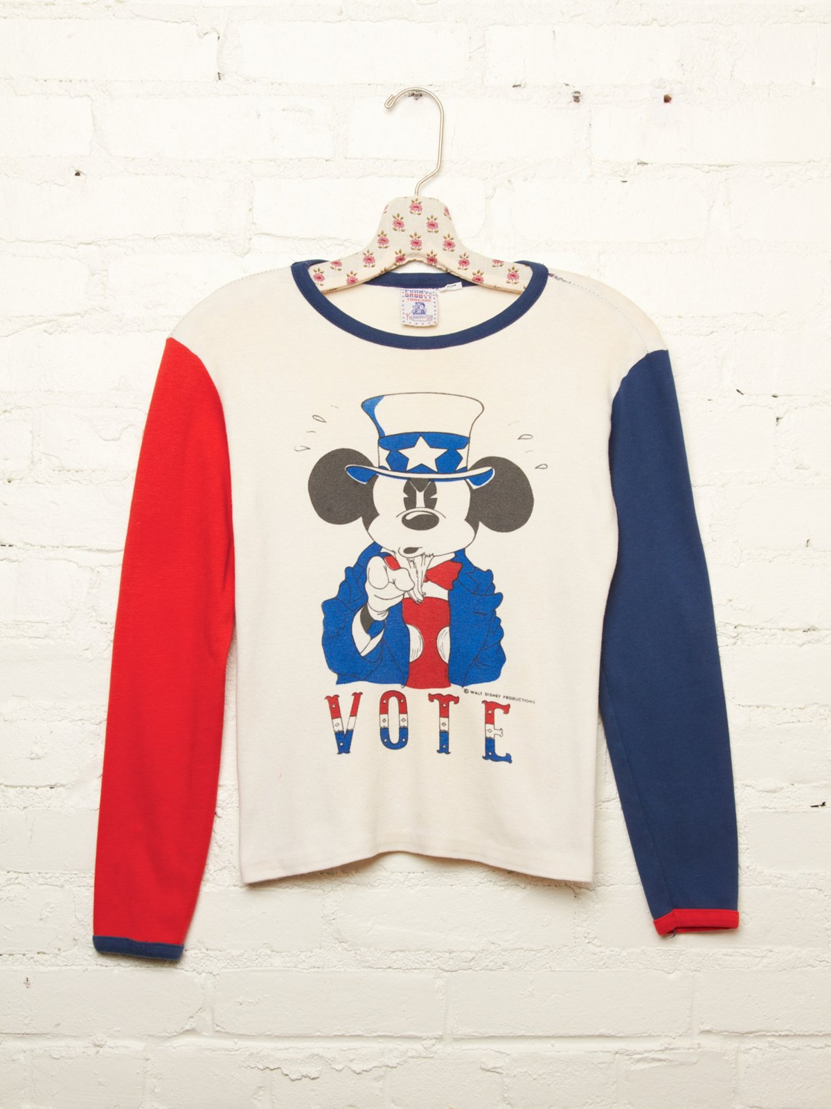 Vintage Mickey Mouse Vote Tee