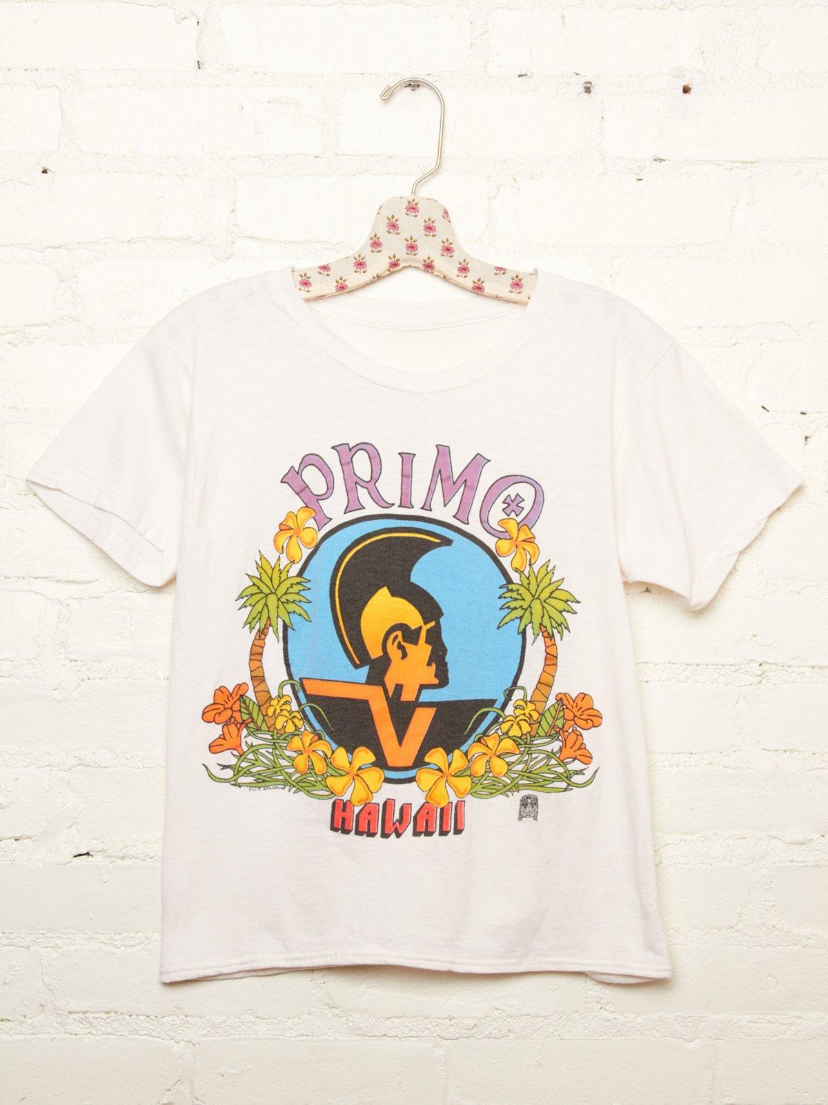 Vintage Primo Hawaii Tee
