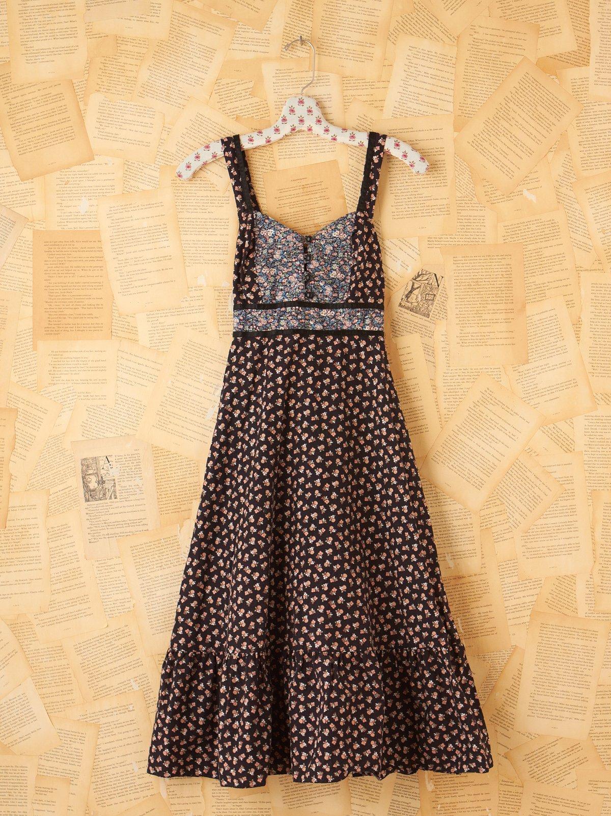 Vintage 70s Buttondown Dress