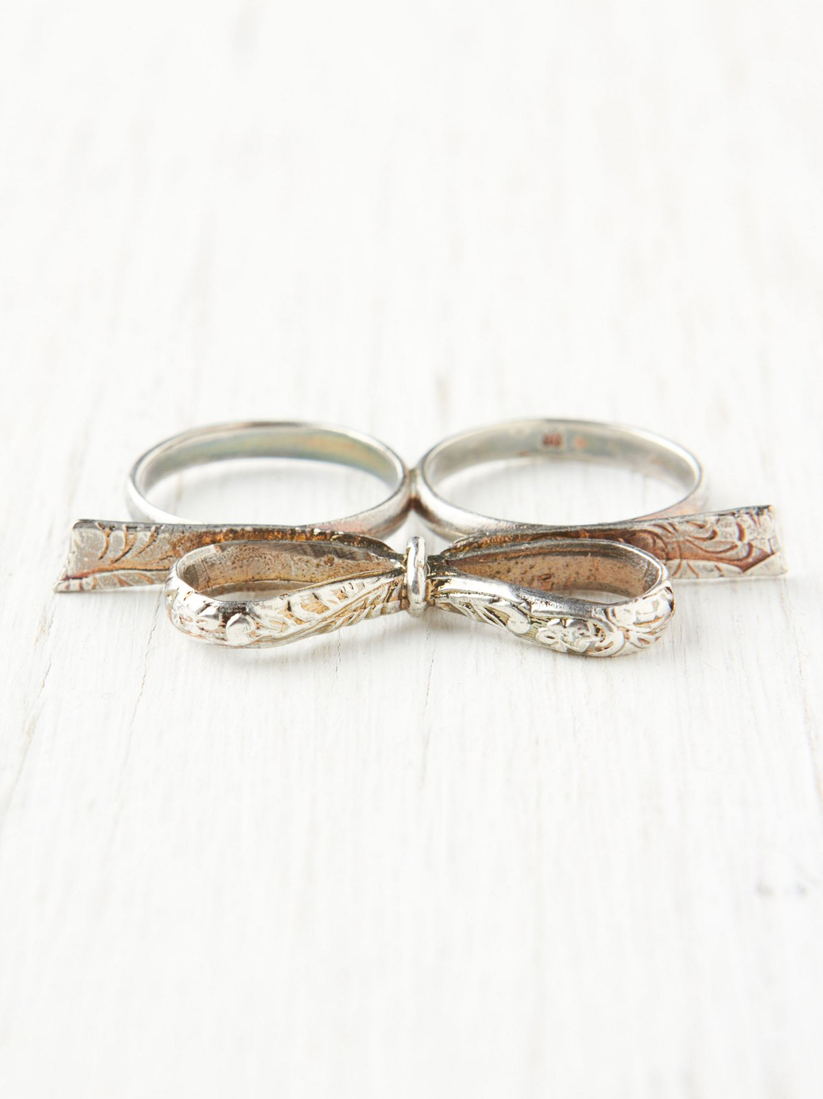 Love Knot Double Ring