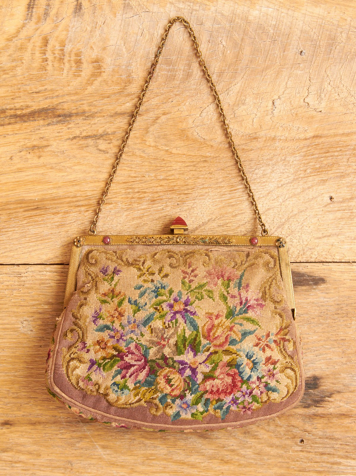 Vintage Small Floral Purse