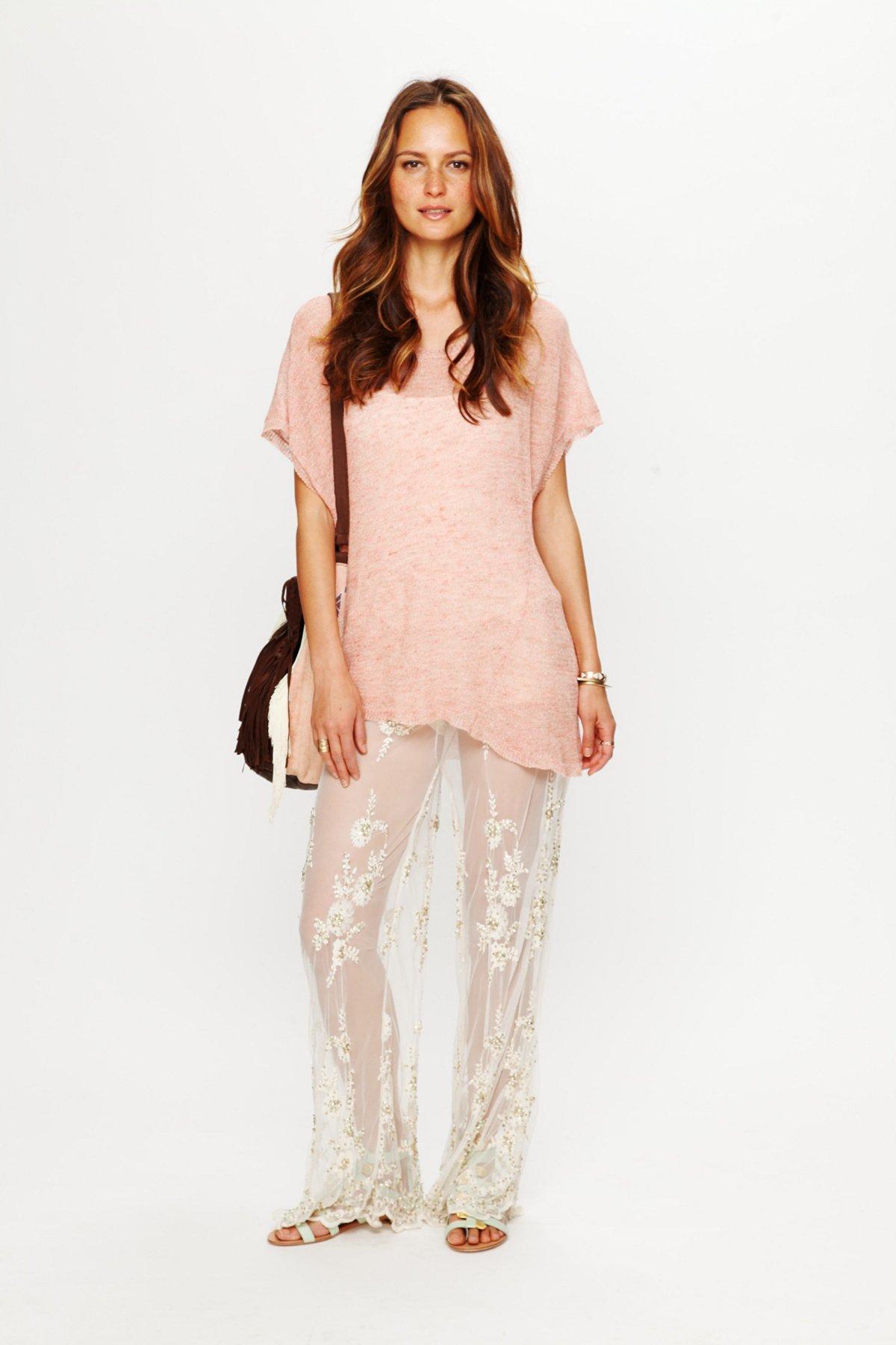 Embellished Lace Pant