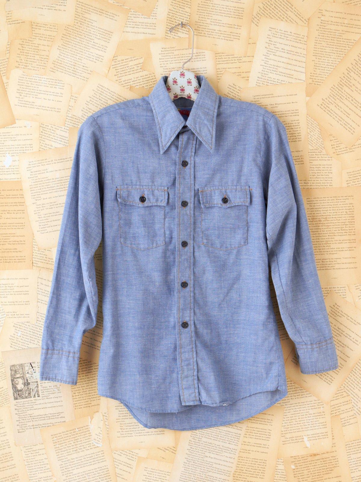 Vintage Chambray Denim Shirt