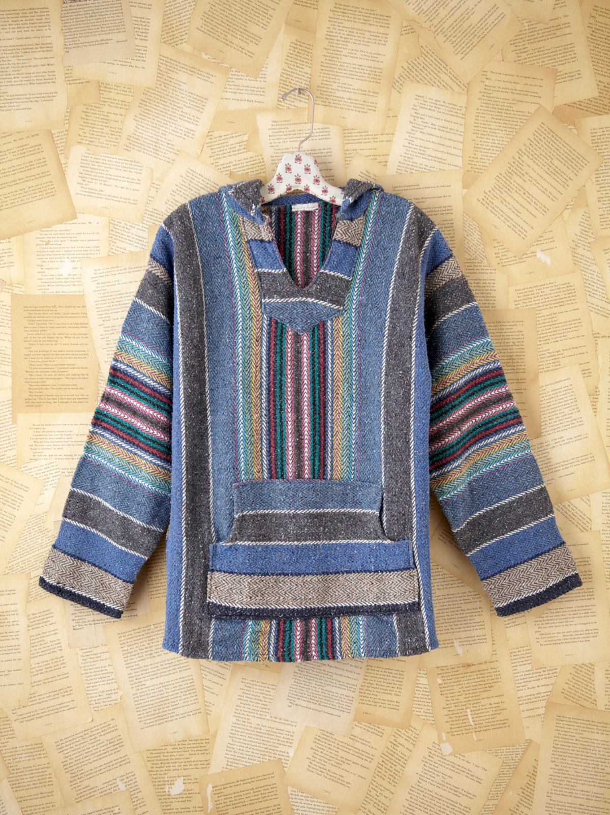 Vintage Woven Pullover