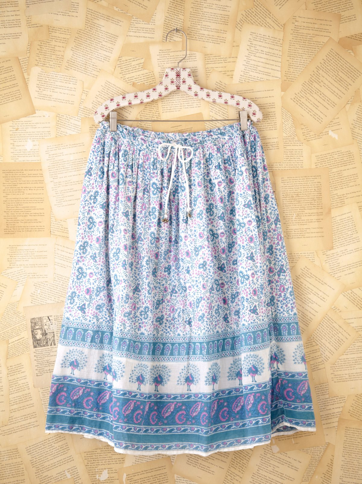 Vintage Cotton Median Gauze Skirt
