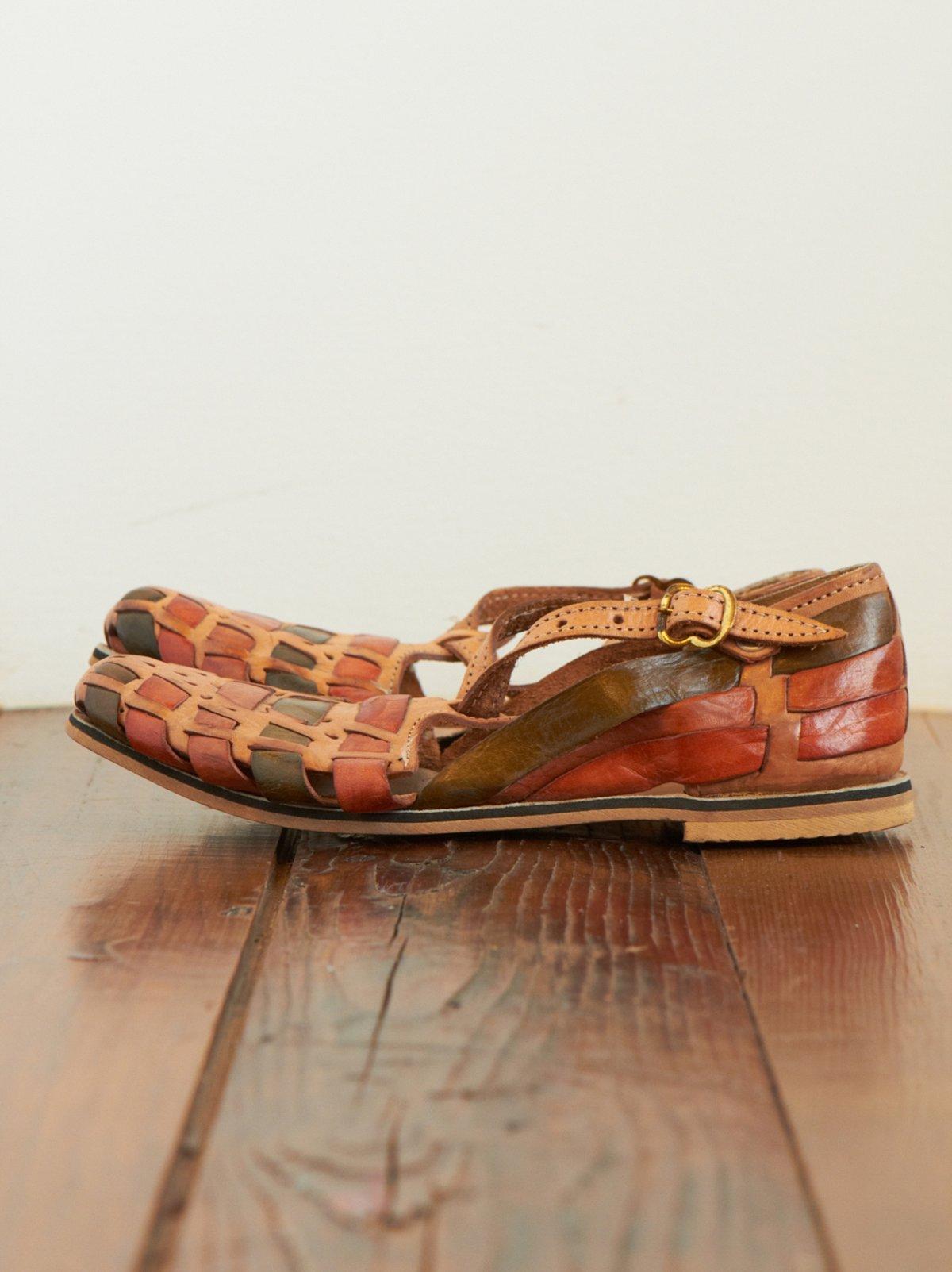 Vintage Huarache Sandals