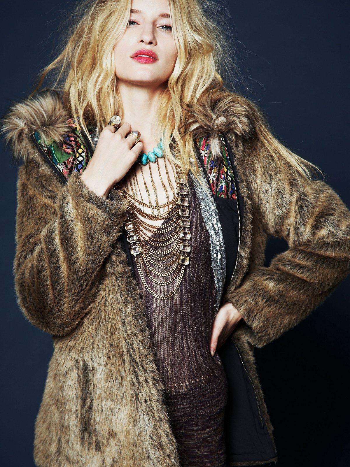 FP ONE Reversible Fur Parka