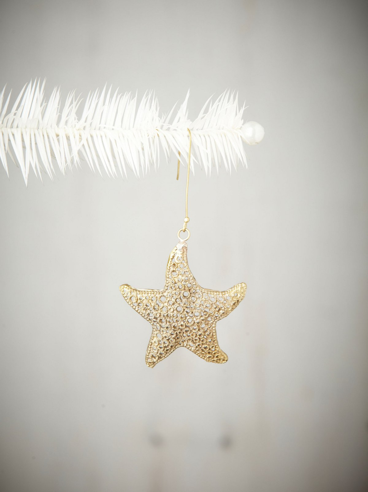 Lily Starfish Ornament