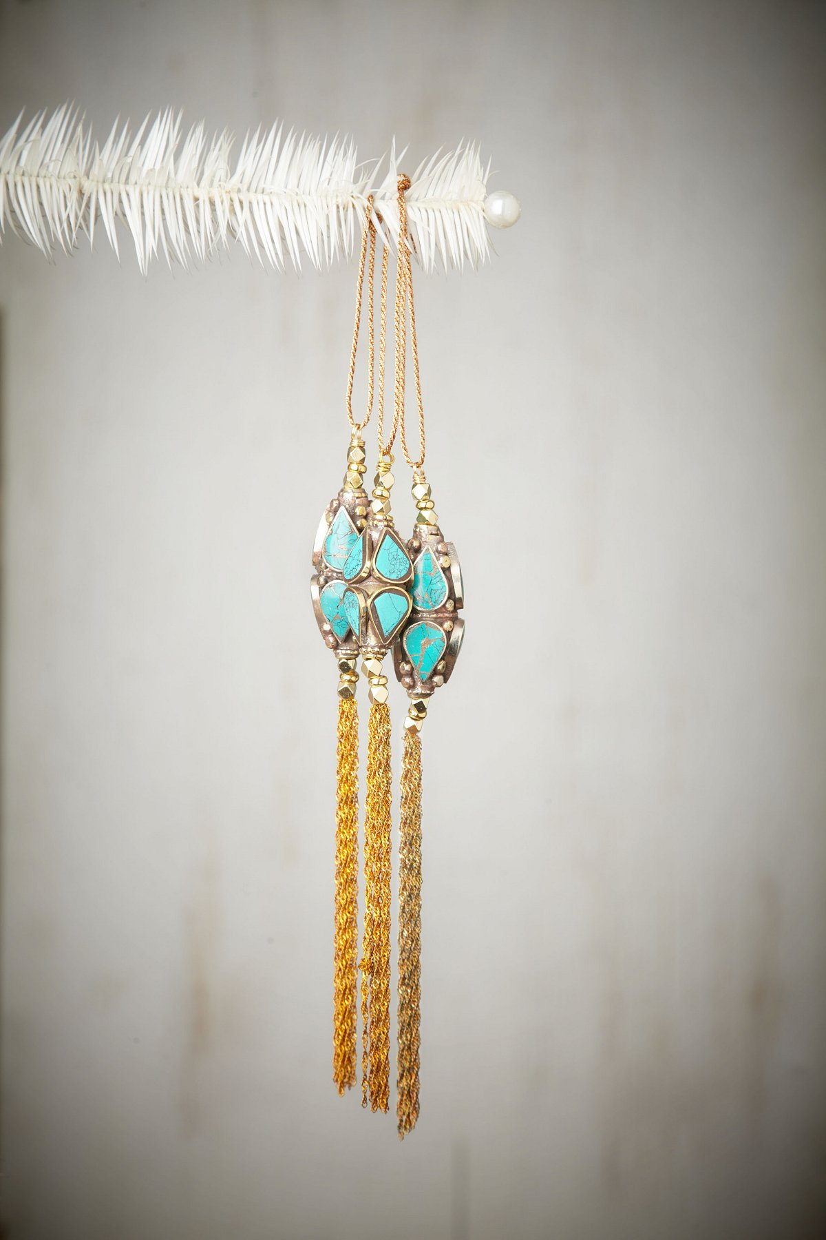 Dalila Turquoise Ornament